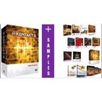 Kontakt 5 + Bibliotecas E Samples Profissionais /windows/mac