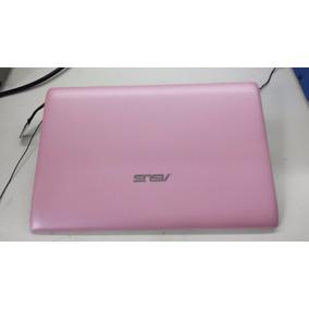 Tampa Completa Traseira Lcd Netbook Asus Eee Pc 1025c - Rosa