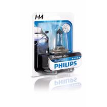 Lâmpada Super Branca Philips Blue Vision H4 4000k 60/55w