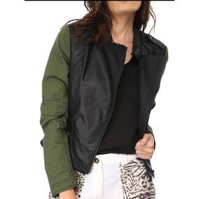 Chamarra Roquera Shopper Vinipiel De La Mujer Casual Fashion