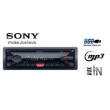 Stereo Sony Dsx-a100u Usb Mp3 Entrada Auxiliar 55w X 4