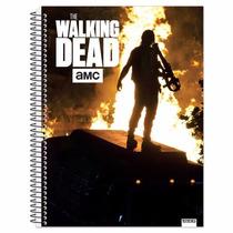 Caderno The Walking Dead - 10 Materias Queima De Estoque