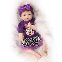 Boneca Parece Bebê De Verdade 55cm Barato Frete Grátis