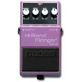 Pedal Boss Hf-2 Hi Band Flanger Para Guitarra - Japonés