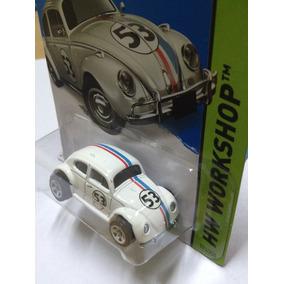 Hot Wheels Volkswagen Herbie Fusca Beetle