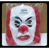 Máscara Careta De Goma Eva Halloween - Payaso It