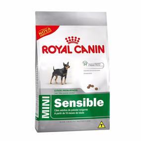 Ração Royal Canin Mini Sensible Para Cães Adultos 7,5 Kg