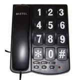Aparelho De Telefone C/ Fio Maxtel Mt-209 Tecla Grande