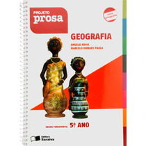 Livro Geografia 5ºano Projeto Prosa Ed:saraiva