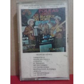 Los Braveros Del Norte - Polkas Con Cabrito (casete Original