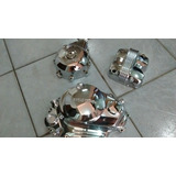 Jogo De Tampa Do Motor Cromadas Da Titan/fan 150 Ks/esd