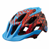 Capacete Fox Flux Cauz Blue Ciclismo Bike Mtb L / Xl 2017