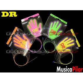 Encordado Cuerda Dr Neon 11 Guitarra Electrica Musicapilar
