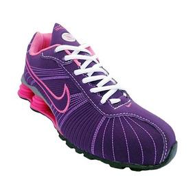 Tênis Nike Shox Turbo V Roxo E Rosa