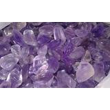 Piedras Cristales Amatista Roladas Calidad Premium 1 Kgrs
