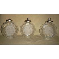 Carameleras De Vidrio Con Tapa Divinas!!!! Distintos Diseños