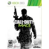 Xbox 360 Call Of Duty Mw3 Video Juego Nuevo Sellado