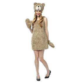 Disfraz De Oso Ted Para Damas, Envio Gratis