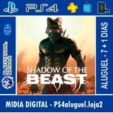 Shadow Of The Beast Ps4 Em Portugues - Aluguel 7 + 1 Dias