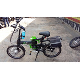Bicicleta Eletrica Dafra Db0 Bateria Litio 24v 6ah Semi Nova