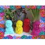 Budas Adorno Decorativos..pintados Y Barnizados Moron