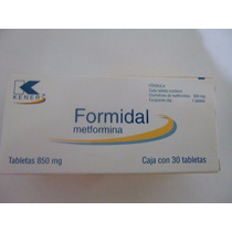 Metformina Tableta 850 Mg 30 Tabletas