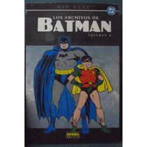 Bob Kane - Los Archivos De Batman Vol. 2