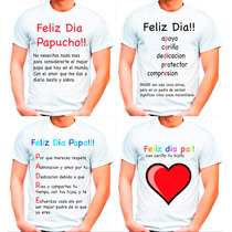 Remera Dia Del Padre El Mejor Regalo Para Papa! Envio Promo