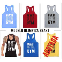Musculosas Olimpicas Beast Of The Gym A Todo El Pais