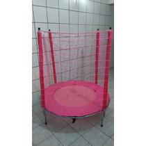Cama Elastica 1,40m (linha Para Meninas) Rosa