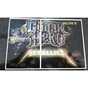 Skin Guitar Hero Metálica Ps2 Slim.