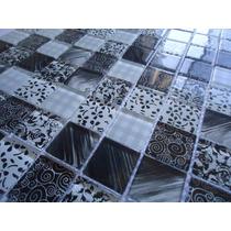 Pastilha De Vidro Decorada - Mosaicos_revestimentos_cristal