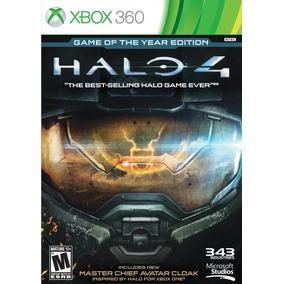 Halo 4 Game Of The Year Edition (português) - Xbox 360 E One