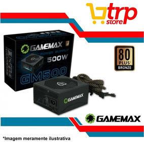 Fonte 500w Atx 24p/sata 80 Plus Bronze - Gm500 - Gamemax
