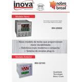 Controlador Tempo/temperatura Inova Inv 20002 / Inv 32103