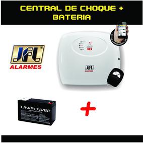 Kit Central De Choque Jfl Ecr 18 18000v Com Bateria 12v