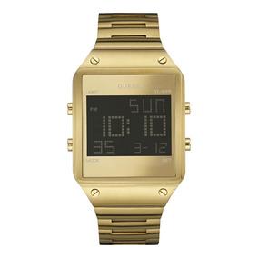 Reloj Guess Digital W0596g3 Dorado P/caballero Envío Gratis*