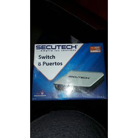 Switch De 8 Puertos Secutech