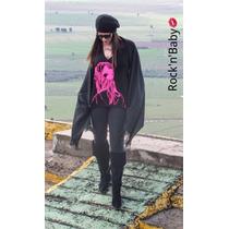 T-shirt Blusa Feminina Estampa Rosa Pink
