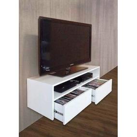 Mueble Para Tv Melamina Flotante.