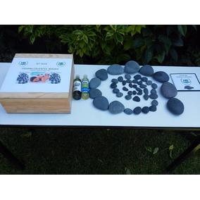 Piedras Calientes Masajes Kit Profesional Holistic Balance