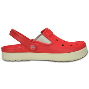 Zapato Crocs Dama City Sneaks Slim Coral