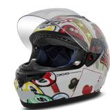 Capacete Mt Helmets Blade New Casino Aerodinâmico Branco