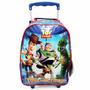 Mochila De Rodinhas Toy Story Disney Azul - Mochilete 0147