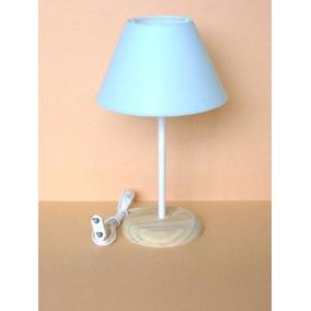 Abajur Luminaria Lustre C/ Cupula Plastica 17x27 Diâm X Alt