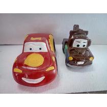 Recuerdos Cars Rayo Mcqueen Centro De Mesa 12 Pz Cumpleaños