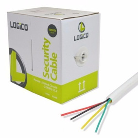 Cable De Alarma Logico Plc4214, 305 M, Color Blanco
