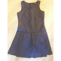 Vestido Nuevo Marca Frágil De Sears Talla G Negro Tablones