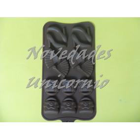 Molde Silicón Tacón Bolsa Despedida Soltera Jabón Chocolate
