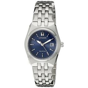 Reloj De Acero Inoxidable Pulsera Ew L Citizen Eco-drive Mu